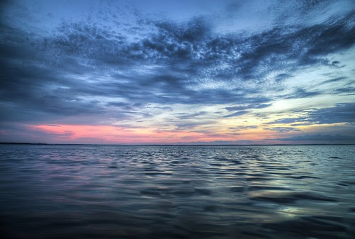 Sunset on the Lake by Savage Land Pictures