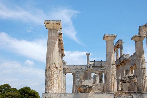 greece - aegina - temple of athena
