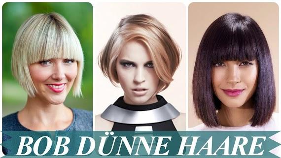 Inspirierende Frisuren 2018 Frauen Feines Haar