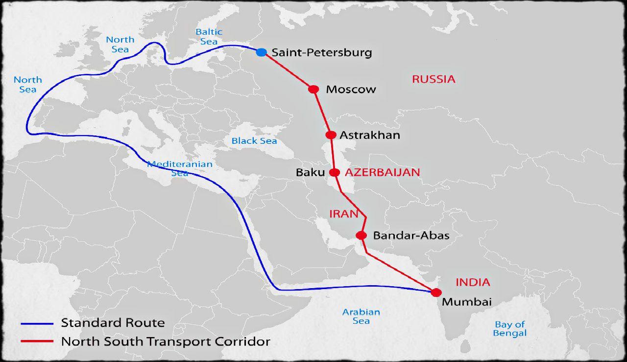 L'Inde, l'Iran et la Russie préparent une alternative au canal de Suez -  France-Irak Actualité : actualités du Golfe à l'Atlantique