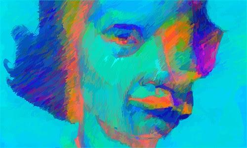 digital versions of analogic drawing by dibujandoarte