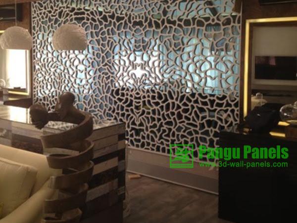 Restaurants wall designs