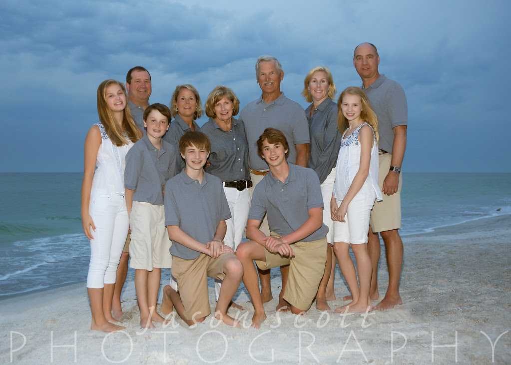 Quandt Family on Longboat Key, April 2013