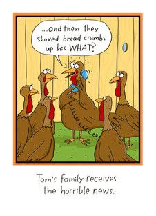 Long-distance Thanksgiving Humor