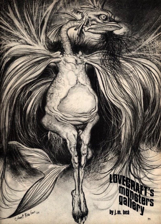 Josep M. Beá - Lovecraft Monster Gallery - 1