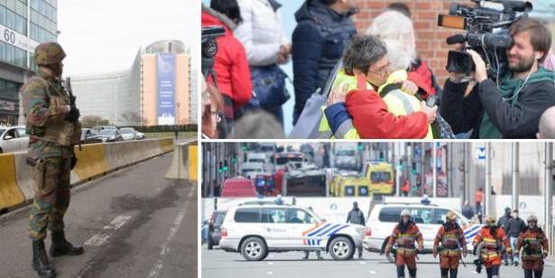 Attaques de Bruxelles: Daech revendique les attentats