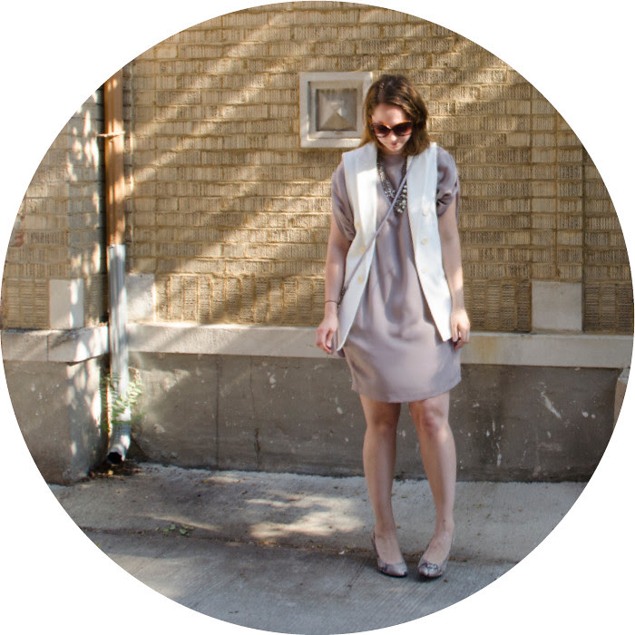 july blog post, summer dress with vest, summer layers, sleeveless white vest, zara vest, summer neutrals, wear to work, ootd, suzi chin dress, summer light neutrals, dude its hot outside
