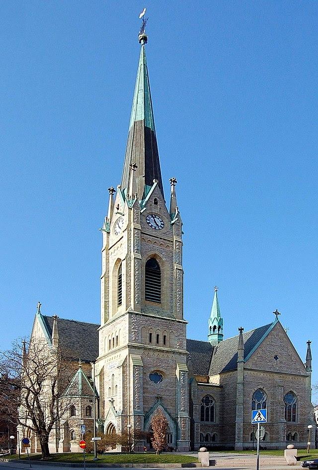 Oscarskyrkan i april 2006