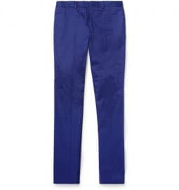 Ps By Paul Smith Slim-fit Cotton-twill Trousers