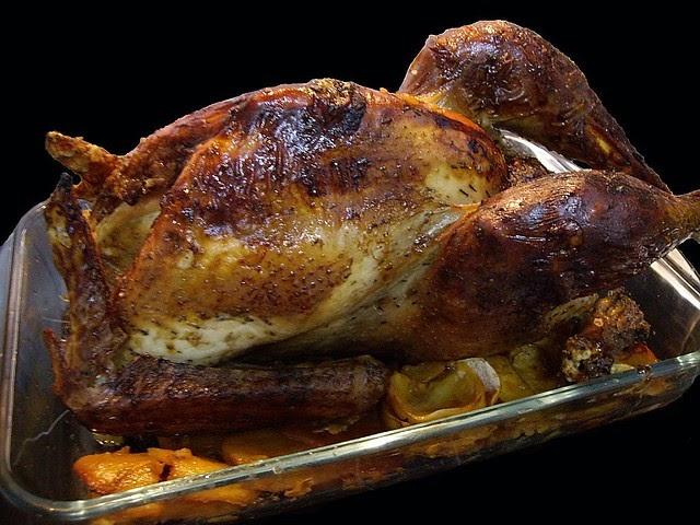 Como hacer pollo cap n relleno al horno recetas de - Como cocinar pollo al horno ...