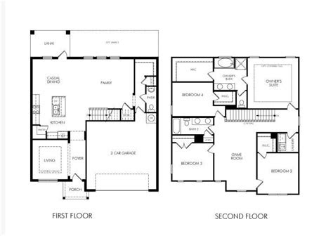 story bedroom home floor plan future ideas pinterest