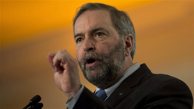 Le chef du NPD Thomas Mulcair
