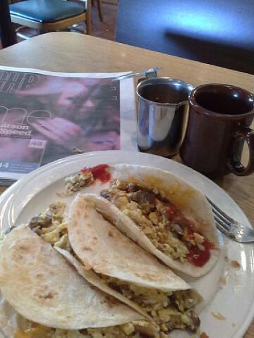 Breakfast tacos by karlakp