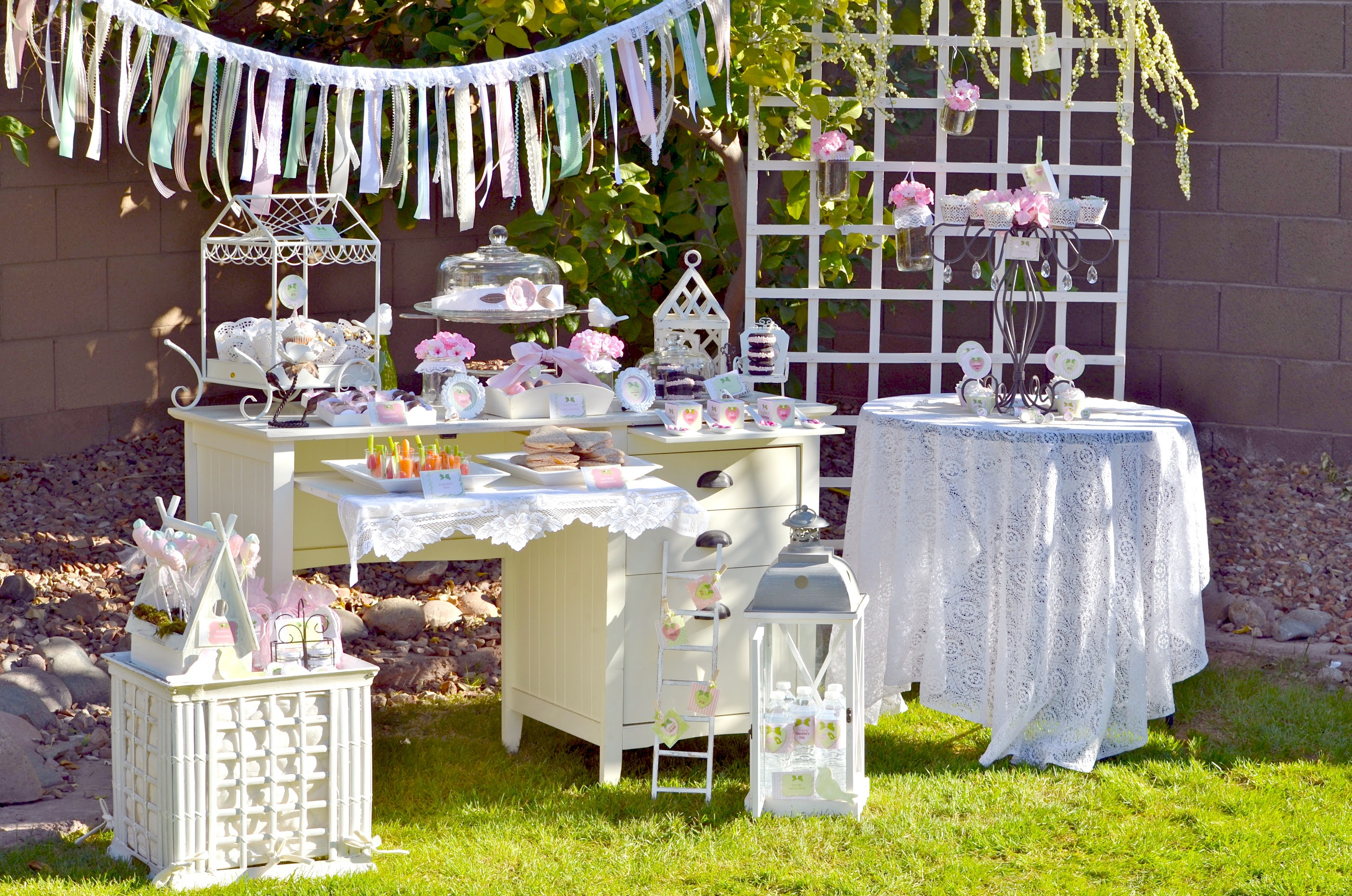 Party Themes} Vintage Valentine Party