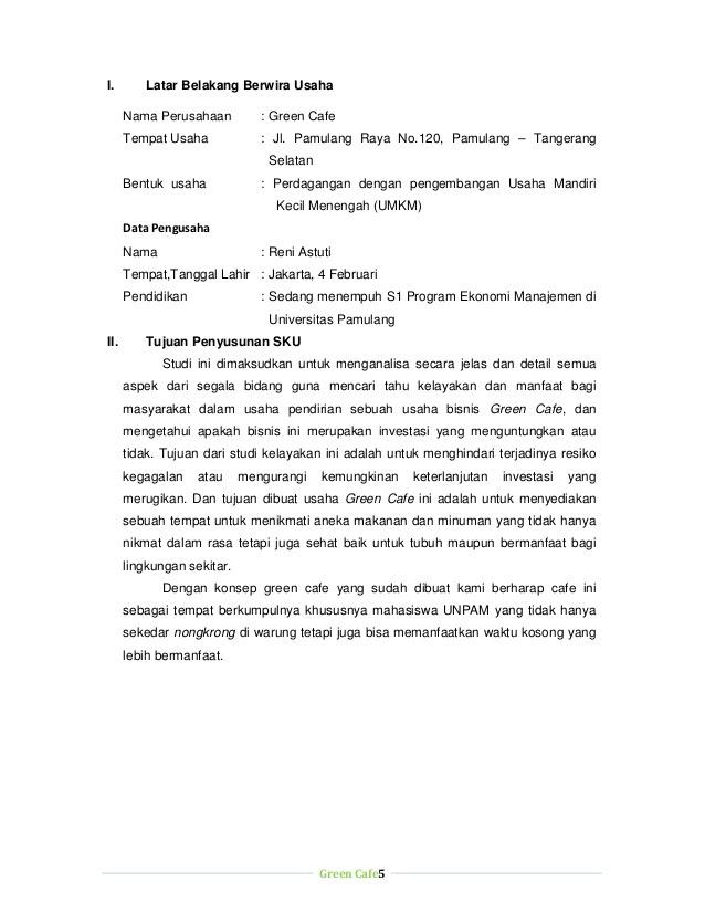 Contoh Proposal Bisnis Plan Cafe Pdf Berbagi Contoh Proposal