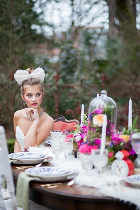 Alice in Wonderland Inspired Wedding by Jamie Rae