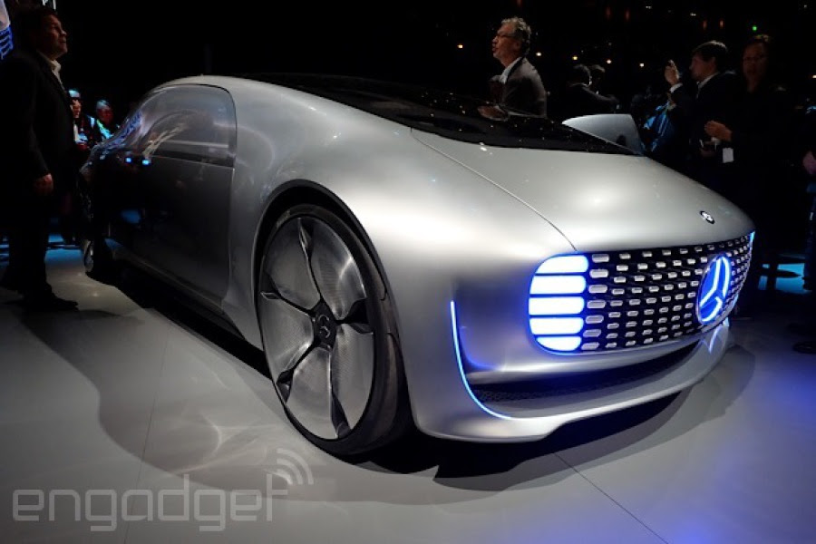 CES 2015: Mercedes-Benz F 015 Luxury in Motion gives a ...