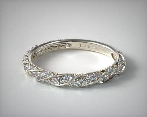 wedding rings, womens stackable, platinum matching wedding