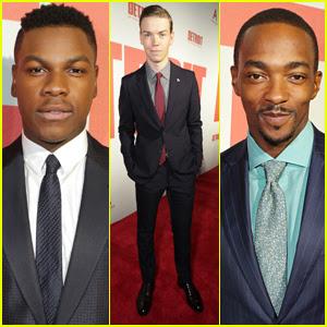 John Boyega & Anthony Mackie Suit Up for 'Detroit' Premiere
