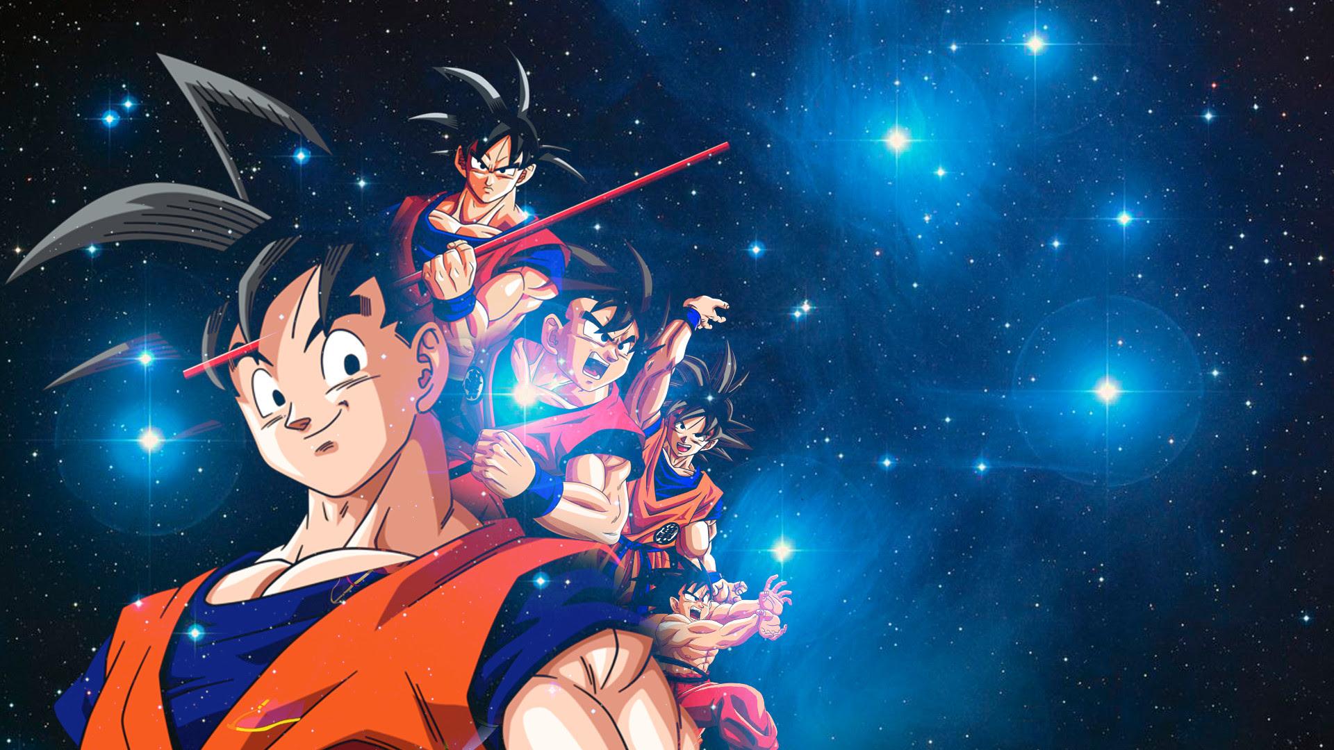 1080p Ultra Hd Goku Wallpaper 4k Gambarku