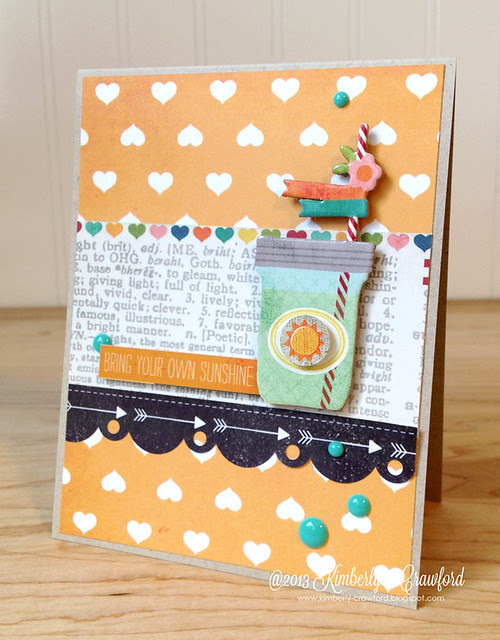 bring your own sunshine Simple Stories by Kimberly Crawford