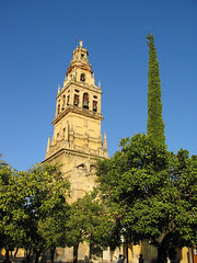 Torre del Aminar di Mezquita, Cordoba, Spain