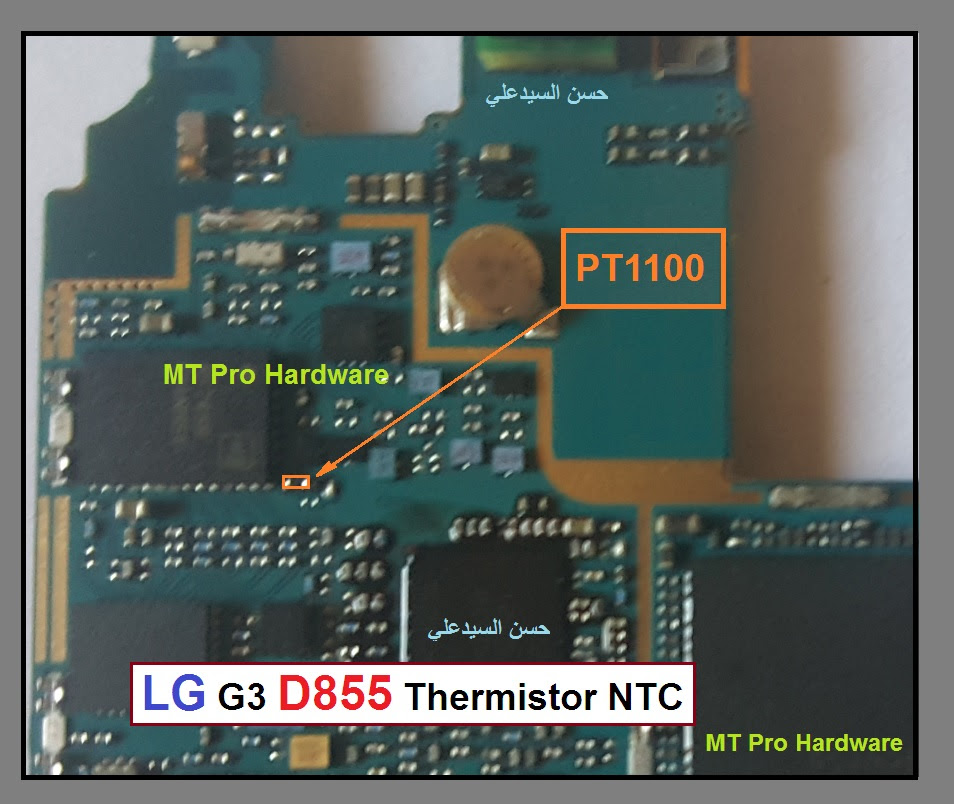 LG G3 D855 Charging Paused Solution Jumpers