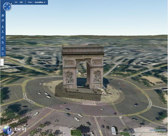 Bing Maps 3d Ex Virtual Earth 3d Telecharger