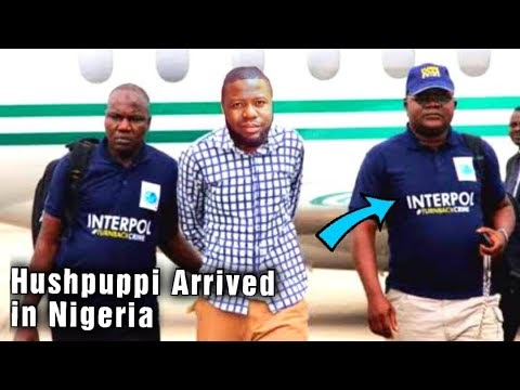 Video: Hush Puppi Sent Down To Nigeria To Face Judgement