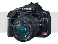 Canon  - EOS Rebel XTI Black SLR Digital Camera with EF-S 18-55mm Lens Pictures, Images and Photos