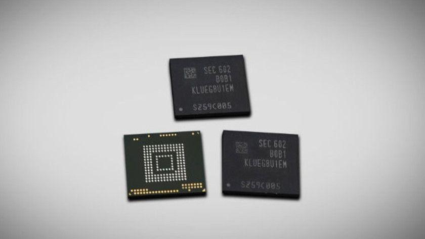 Samsung produce el primer chip de 256 GB para smartphones