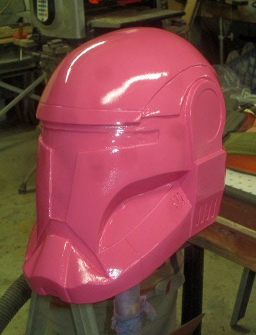 RC helmet front quarter