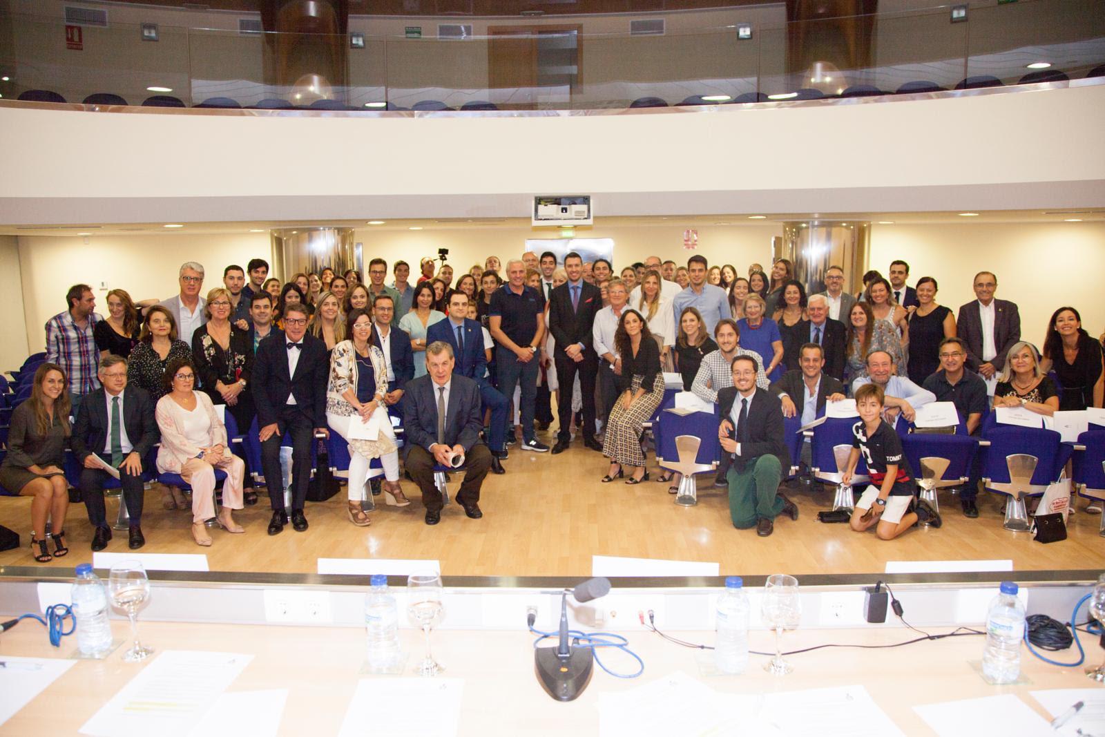 Representantes del CODECS arroparon al Centro de Estudios en la apertura de su curso científico.