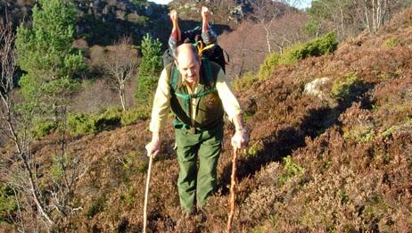 Erling på jakt (Foto: privat)
