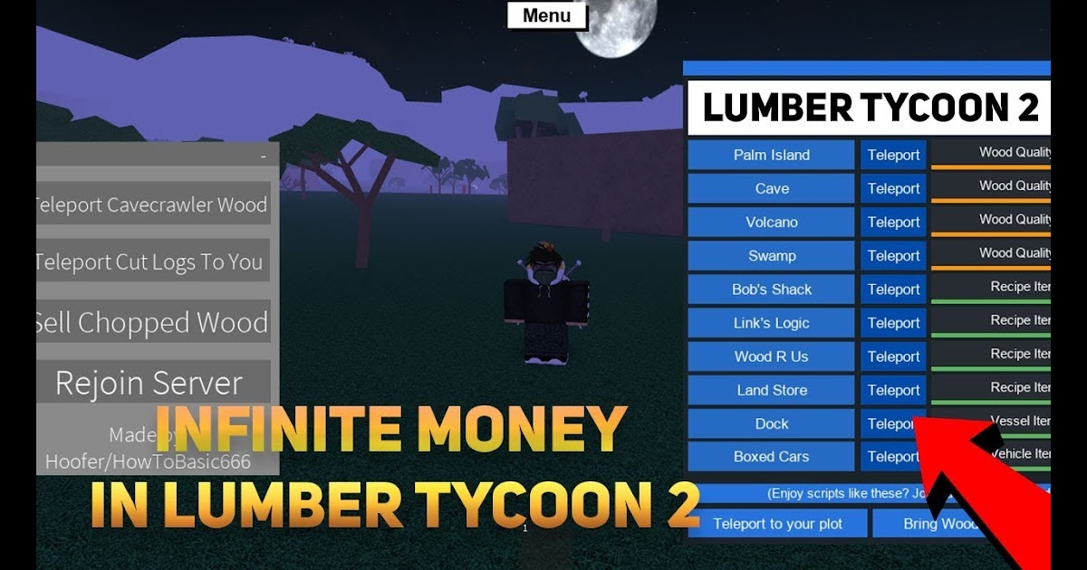 How To Hack Roblox Lumber Tycoon 2 With Cheat Engine | Robux