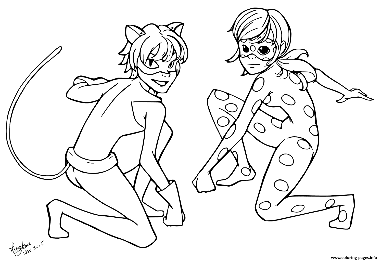 Miraculous Ladybug Coloring Pages at GetDrawings   Free ...
