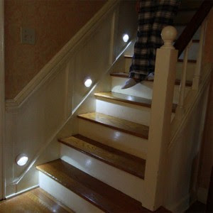 Home stair safety - PathLIghts System