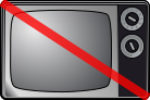 Television set for Wikipedia userbox icons, or...