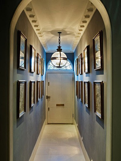 Very narrow hallway