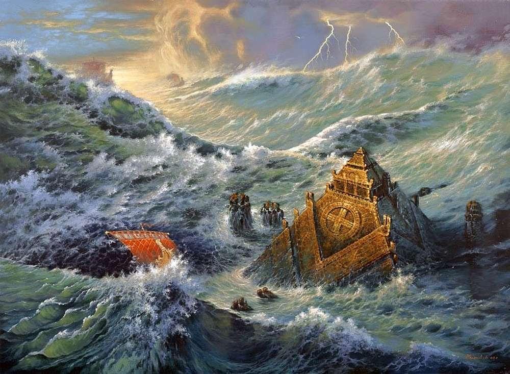 Война Атлантиды против Славяно-Арийской Империи