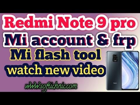 Redmi Note 9s (curtana) mi account free file | Redmi note 9s mi account frp unlock by softichnic