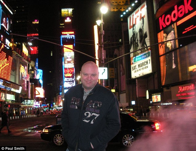 First night in New York - Times Square, Manhattan