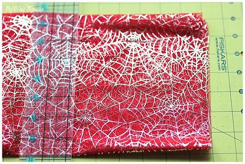 MWM Red 2 tier Halloween Skirt Oct 2012 27