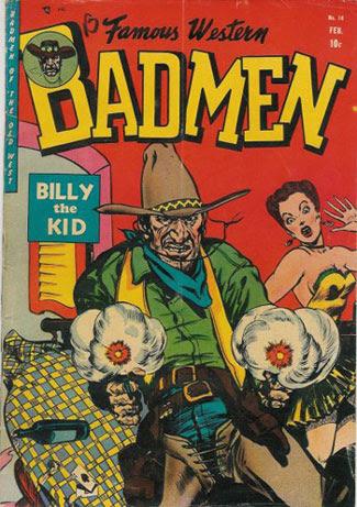 Famous Western Badmen #14