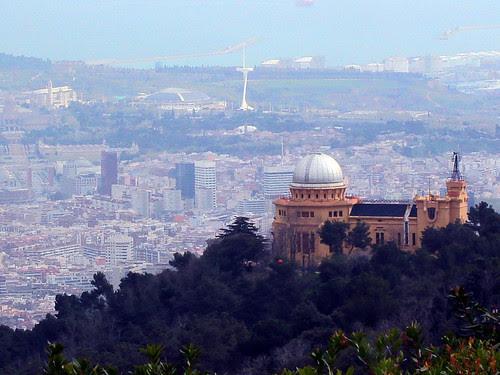 Fabra observatory (Gran Hotel la FLorida - Next to the Tibidabo)