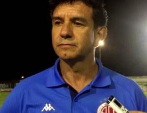 Guilherme Macuglia - técnico do América-RN (Foto: Diego Simonetti/Blog do Major)