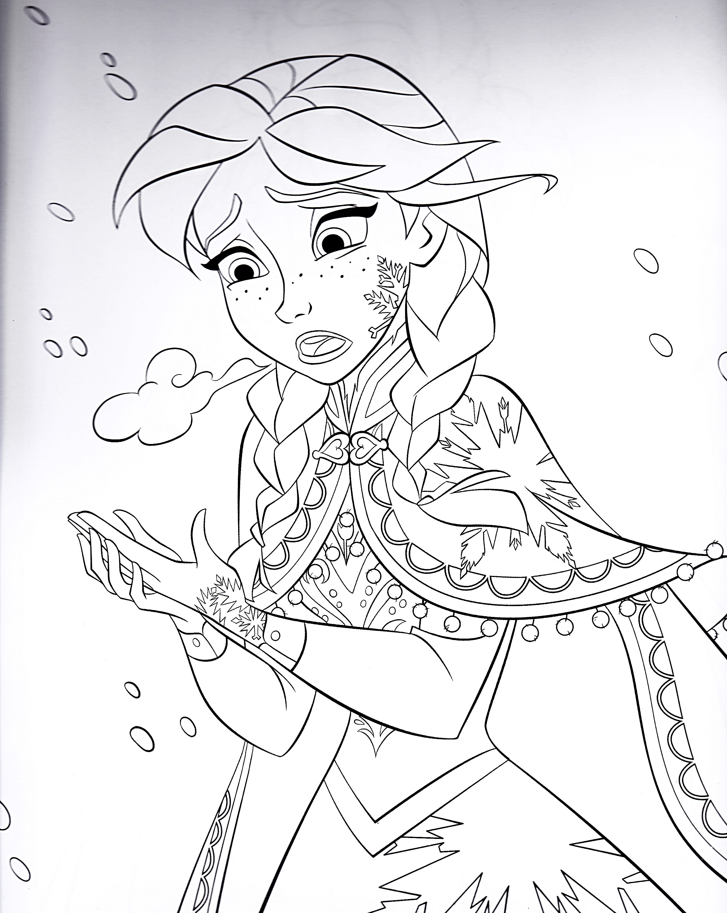 disney frozen coloring book pages is a part of disney frozen ...
