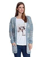 blog de moda, solo yo, blog solo yo, chaqueta, punto, chaqueta envolvente, caramelo, rebajas, moda, mujer
