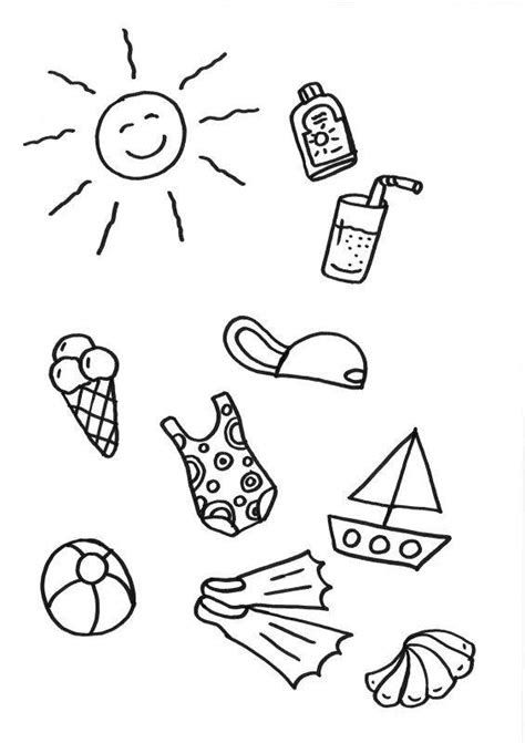 malvorlagen kostenlos strand  kostenlose malvorlagen ideen