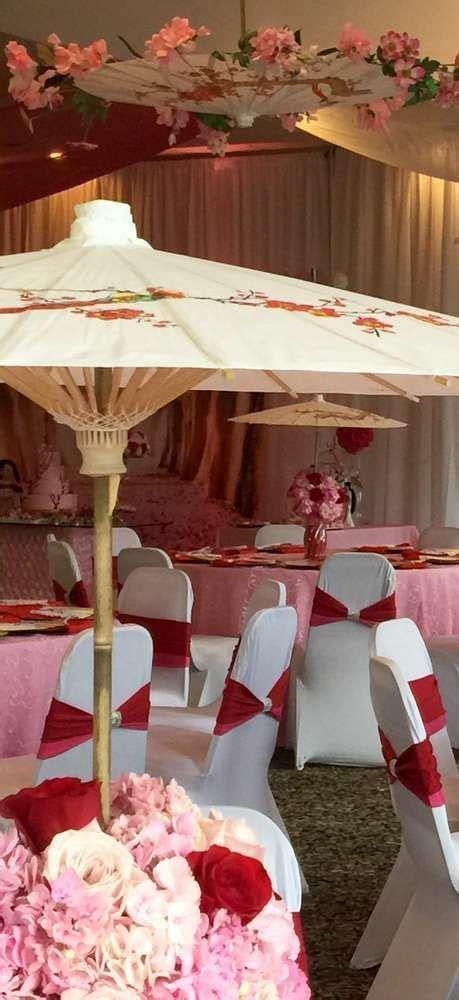 Mulan/Cherry Blossom/ Chinese Birthday Party Ideas